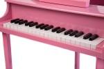 pink baby grand piano