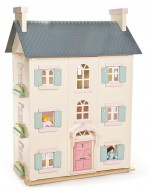 large dolls house closed