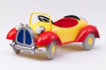 metal noddy pedal car